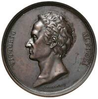 s1087) Vittorio Alfieri (scrittore) (1749-1803) Medaglia 1819 AE Op: Cossa Ø 50