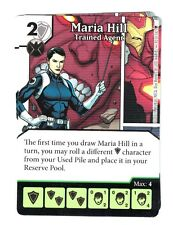 Marvel Dice Masters AOU, Mari Hill Trained Agent 90/142 W/Dice