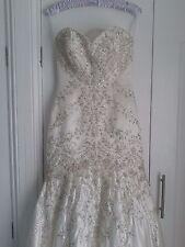 Stunning Mori Lee Wedding dress size 4 but more like 6/8