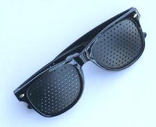 Eyes Exercise Eye Care Pinhole Pin Hole Glasses Vision Improve Eyewear New