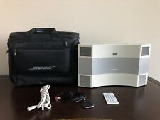 BOSE Acoustic Wave Music System II W/ AM/FM CD PLAYER Carrying Case Bag MINT