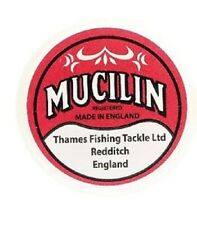 Fly Fishing:  MUCILIN SOLID FLOATANT (RED TUB) LINE GREASE / FLY FLOATANT
