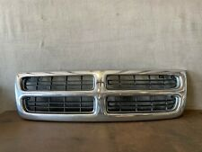 1998-2003 DODGE RAM VAN Front End CHROME Grill Grille Radiator Support OEM Nice