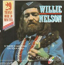 WILLIE NELSON Is There Something On Your Mind 2 CD set - 29 tracks