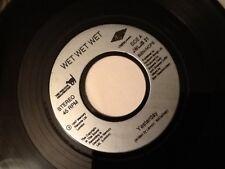 """Wet Wet Wet. Hier (LENNON McCARTNEY)/Peut-être que je suis en amour. 7"""" vinyle 1997"""