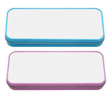 Sublimation Metal Tin Pencil Box Case for Heat Press Transfer Printing