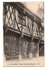 18 - cpa - BOURGES - Maison de la Reine Blanche   (C4475)