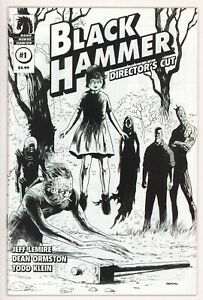 Black Hammer #1, Director's Cut Sketch Cover, 2019, Low Print Run, NM-
