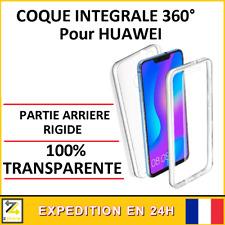 Coque intégrale 360 TRANSPARENTE HUAWEI Y5 Y6 Y7 PSMART 2019 2020 Z P30 P40 PRO