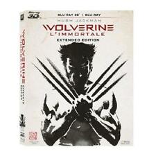 WOLVERINE L'IMMORTALE EXTENDED EDITION 3D BLU RAY + BLU RAY