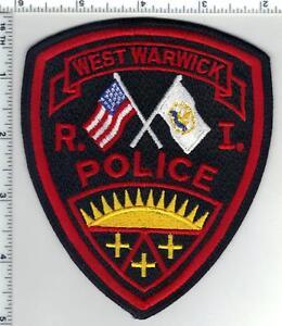 West Warwick Police (Rhode Island) 1st Issue Shoulder Patch