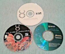 Ultima Pc Game Lot: Ultima Online, Ultima Online Renaissance, Ultima 7 complete