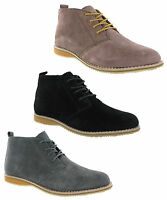 Cotswold Classic Soft Suede Leather Lace Up Mens Desert Boots Size 6-12 UK