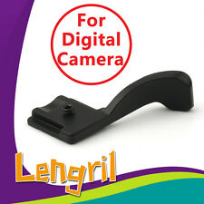 Thumb Up Grip Metal for Digital Camera Canon Olympus Samsung Pentax Fuji Lumix