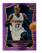 DENNIS SCHRODER 2013-14 PANINI SELECT ROOKIE RC PURPLE PRIZM #164 /99