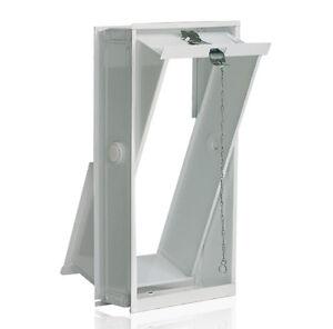 Lüftungsflügel Kippfenster 19x39cm für Glasbausteine für 2 Glassteine 19x19x8cm