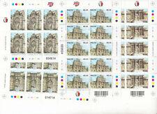 MNH MALTA STAMP FULL SHEETS 2012 TREASURES OF MALTA FAMOUS GATES SG 1822-1825