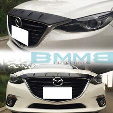 Paint All Color MAZDA 3 3rd Hatchback Sedan Front Hood Bonnet Fin Spoiler Wing