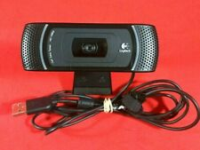 ✰Logitech C910 HD Pro 1080p USB Webcam w/ Built-in Mic Carl Zeiss Tessar Optics✰