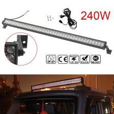 42Inch 240W LED car LIGHT BAR FLOOD SPOT WORK LAMP 4WD FOR OFF ROAD SUV PICKUP