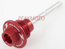 ZETA - ZE89-3030 - Oil Dipstick, Red HONDA CRF450R 2009-2016