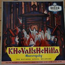 LXT 5045-6-7-8 Mussorgsky Khovanschina / National Opera Belgrade 4 LP box set