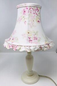 "Rachel Ashwell Simply Shabby Chic Blush Beauty Pink Lamp Shade 7.5"" X 9"" W/ Lamp"
