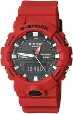 Casio G-Shock GA-800-4ADR Men's GA-800 Red One Size