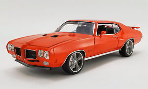 1970 Pontiac GTO Street Fighter The Prosecutor by Acme 1:18 Diecast  (A1801214)