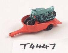 Rare MATCHBOX LESNEY Nº 38 C Honda Moto Motocross remorque Diecast 1967