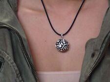 Dolce Jewels C247 - Swarovski Elements Crystal Black Acrylic Statement Necklace