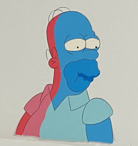 Original production Animation cel  - The Simpsons- Great Cel Of Homer