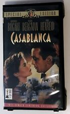 Casablanca SPECIAL EDITION  (VHS) - Unplayed - Clam Shell Case