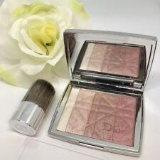 Dior Diorskin Shimmer Powder ROSE DIAMOND 001 + Buki Brush ~ Steel Compact ~ NEW