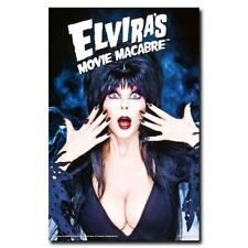 Elvira's Movie Macabre 20x30inch Cassandra Peterson TV Silk Poster