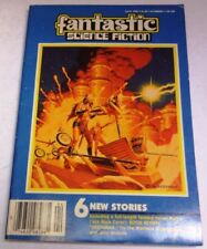 April Vintage Paperback Sci-Fi Magazines in English