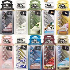 Yankee Candle Vent Sticks Car Air Freshener 4 Pack - Choose From All 20 Scents