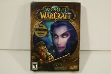 World of Warcraft (Windows/Mac, 2004) PC Game Manual Complete in Box