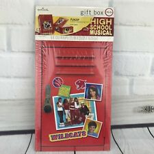 New Hallmark High School Musical Gift Box Disney Wildcats Locker FunZip Sealed