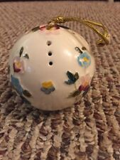Vintage Floris London Floral Pomander England Ornament