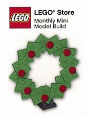 LEGO XMAS WREATH MMMB017 Set Monthly Mini Builds Dec 2009 no instructions