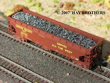Hay Brothers METALLURGICAL COKE LOAD - Fits ATLAS 70-Ton HART N scale Gondolas