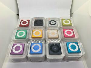 Apple iPod Shuffle 4. Génération 2GB - Divers Couleur- Scellé Neuf