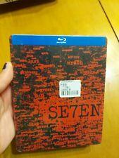 Se7en Seven Steelbook Blu Ray Disc Movie Brad Pitt Morgan Freeman Read