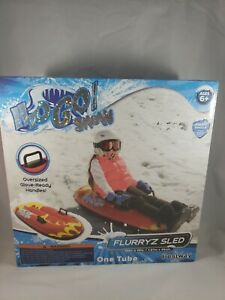 Bestway H2GO Snow Flurryz Sled Kids Snow Sled, Red