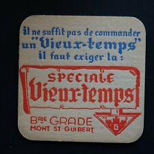 Speciale Vieux-Temps sous-bock bierviltje bierdeckel coaster