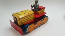 Tin Toy LINEMAR Robotrac BULLDOZER with SPACEDRIVER
