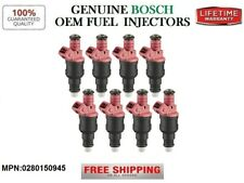 OEM Bosch Set/8 Fuel Injectors for 1997-02 Ford E-150 Econoline Club wagon 4.6L