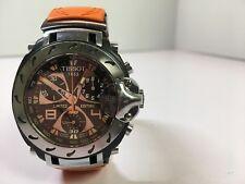 Tissot Nicky Hayden #1 Limited Edition Watch 02179 /11111 Orange Carbon Fiber
