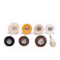 10 Pcs Dental Polisher Brush Wheel Polishers for Rotary Tools